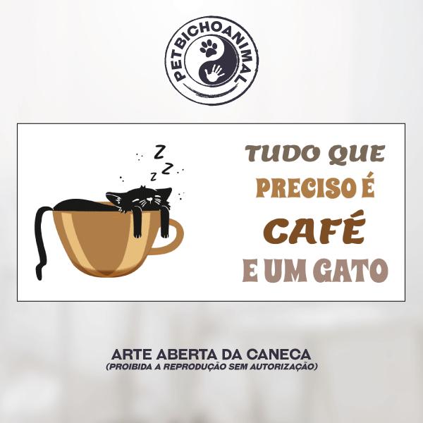 Caneca Café e Gato 4