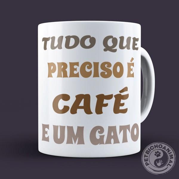 Caneca Café e Gato 2