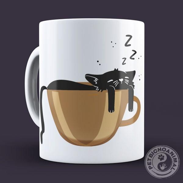 Caneca Café e Gato 3