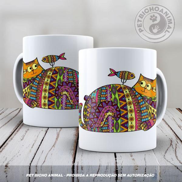 Caneca Coleção Kilim Cat 2 1