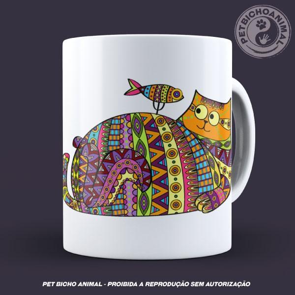 Caneca Coleção Kilim Cat 2 3