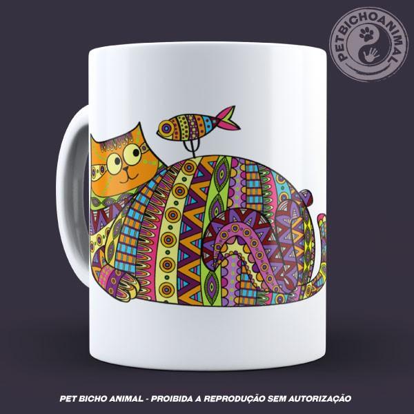 Caneca Coleção Kilim Cat 2 2