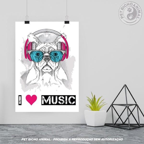 Quadro I Love Music 2