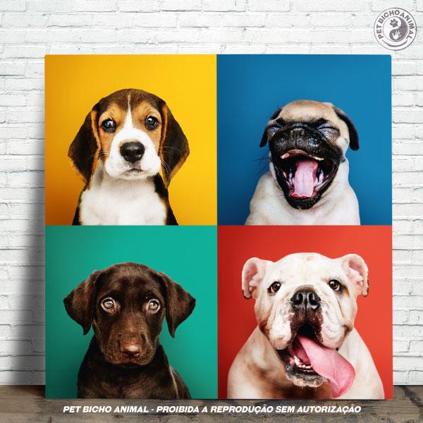 Azulejo Decorativo - Carinhas de Cães 1