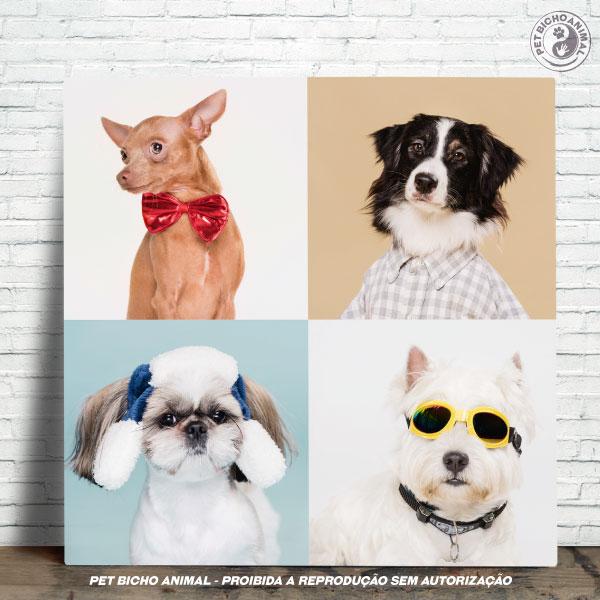 Azulejo Decorativo - Cães Disfarçados 1