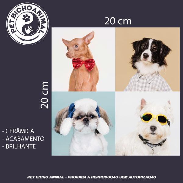 Azulejo Decorativo - Cães Disfarçados 2