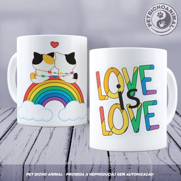 Caneca - Love is Love 1