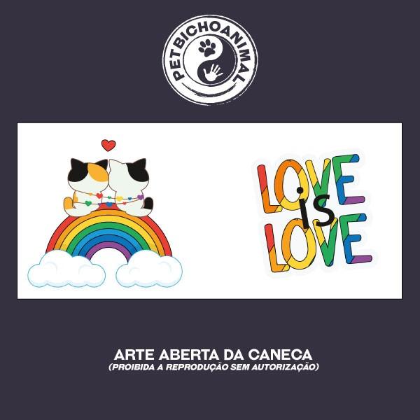 Caneca - Love is Love 3