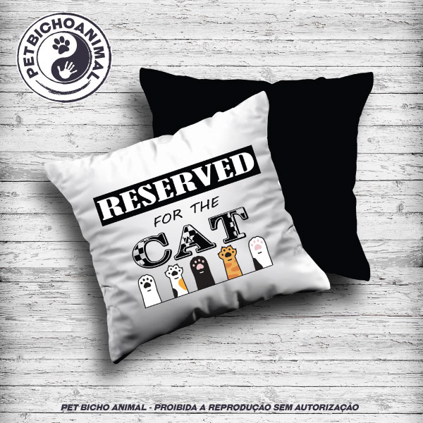 Almofada - Reserved For The Cat 1
