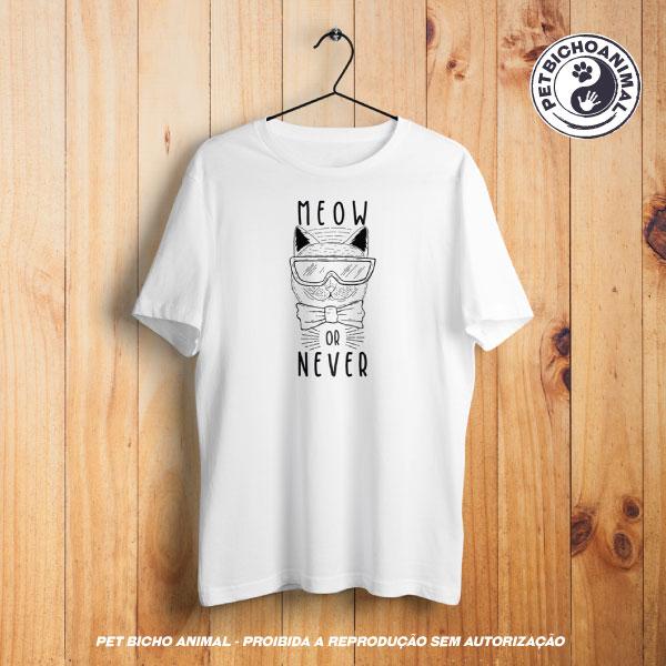 Camiseta - Meow Or Never 1