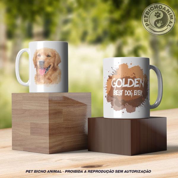 Caneca Coleção Best Dog Ever - Raça Golden 2