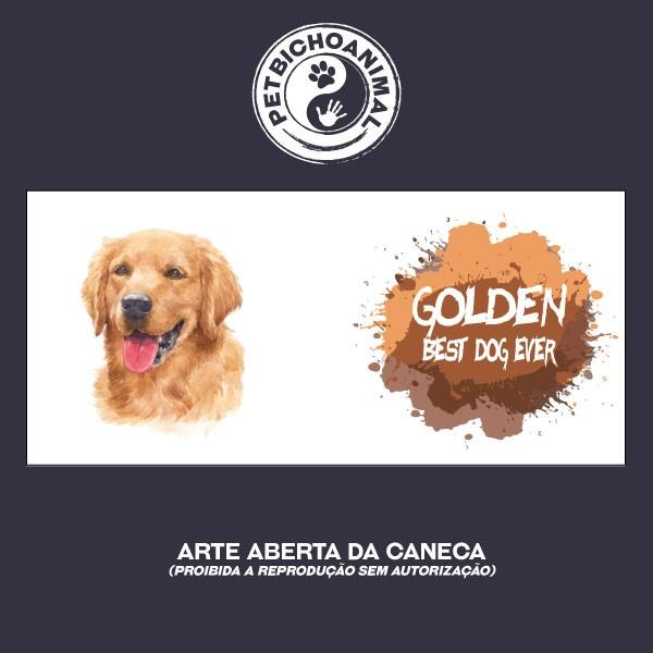 Caneca Coleção Best Dog Ever - Raça Golden 3