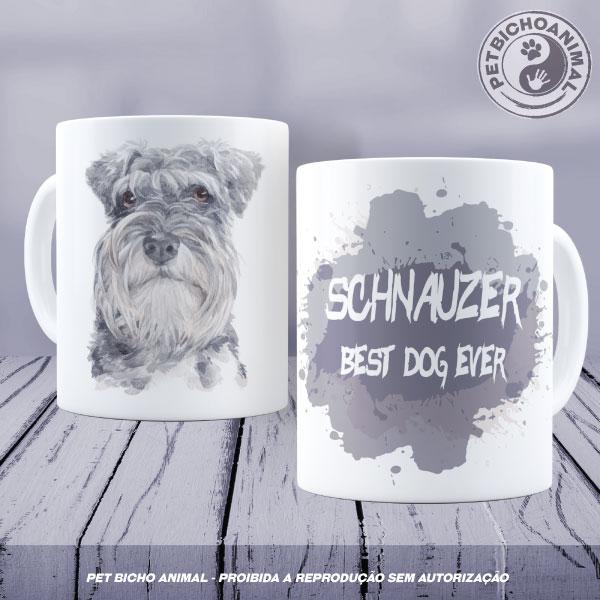 Caneca Coleção Best Dog Ever - Raça Schnauzer 1