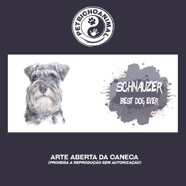 Caneca Coleção Best Dog Ever - Raça Schnauzer 3