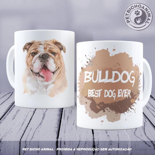 Caneca Coleção Best Dog Ever - Raça Bulldog 1