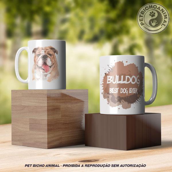 Caneca Coleção Best Dog Ever - Raça Bulldog 3