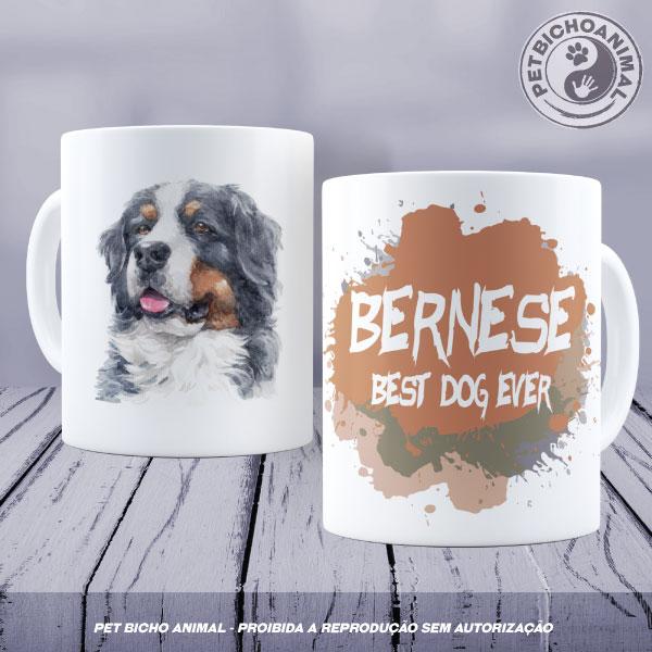 Caneca Coleção Best Dog Ever - Raça Bernese 1