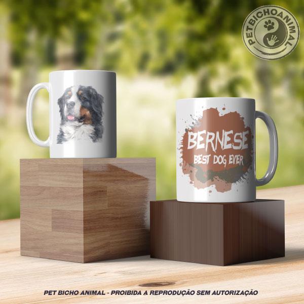 Caneca Coleção Best Dog Ever - Raça Bernese 3