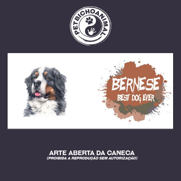 Caneca Coleção Best Dog Ever - Raça Bernese 2