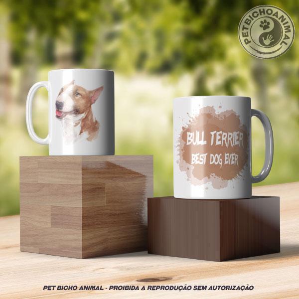 Caneca Coleção Best Dog Ever - Raça Bull Terrier 3