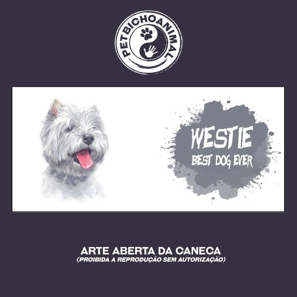 Caneca Coleção Best Dog Ever - Raça Westie 3