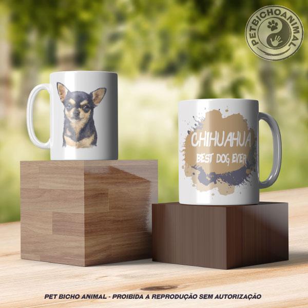 Caneca Coleção Best Dog Ever - Raça Chihuahua 2