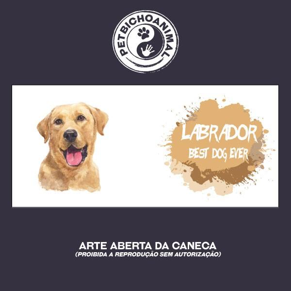 Caneca Coleção Best Dog Ever - Raça Labrador 2