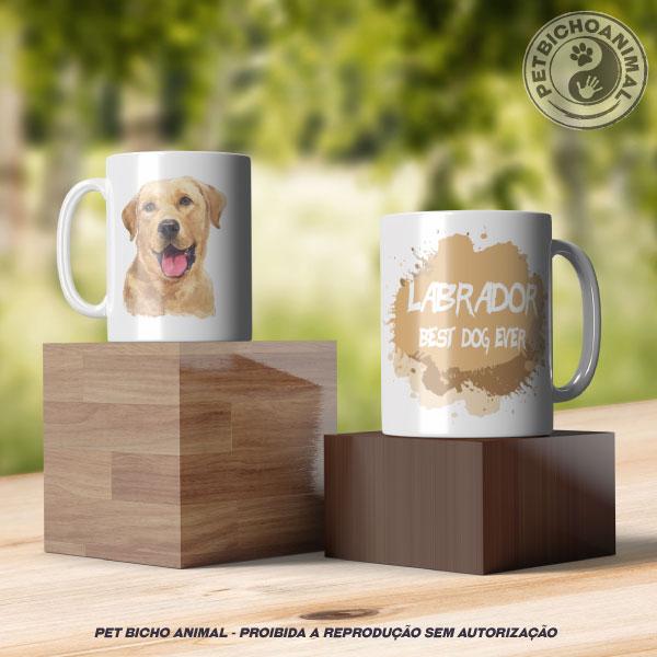 Caneca Coleção Best Dog Ever - Raça Labrador 3