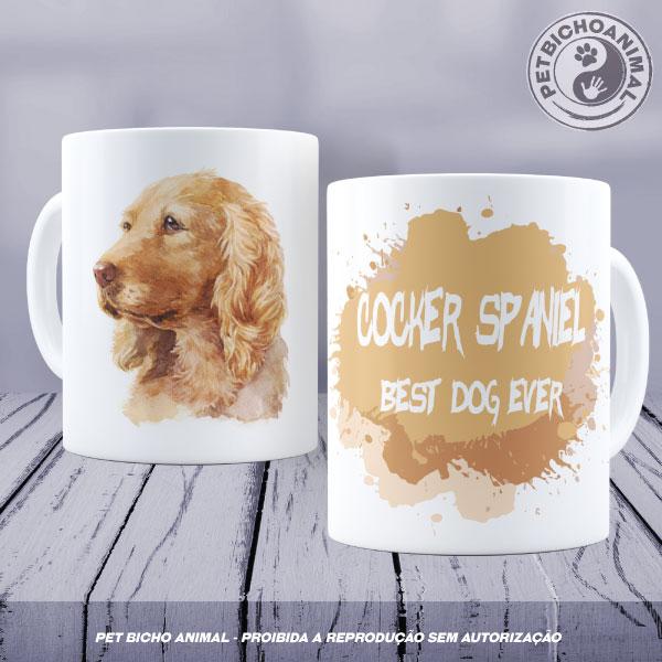 Caneca Coleção Best Dog Ever - Raça Cocker Spaniel 1