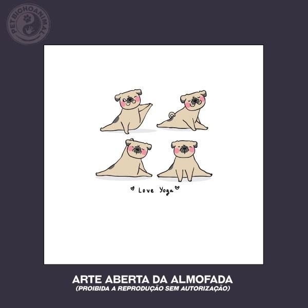 Almofada - Cão Iogue 2