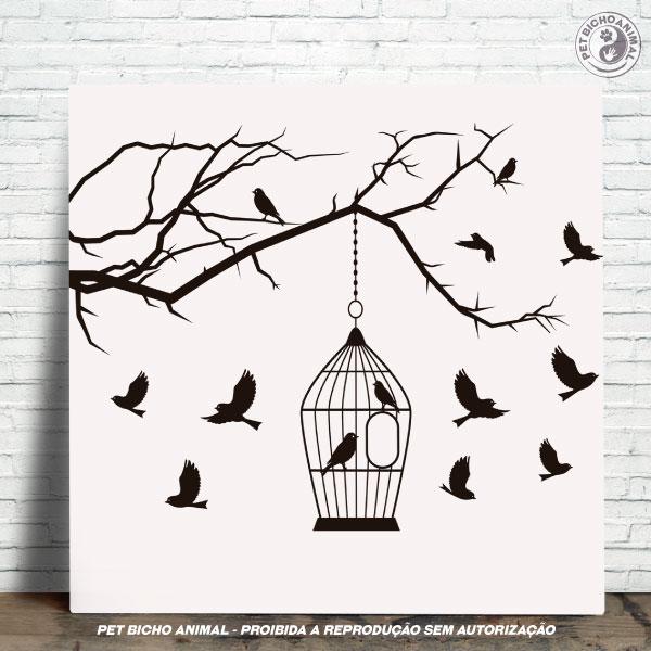 Azulejo Decorativo - Pássaros Livres 1