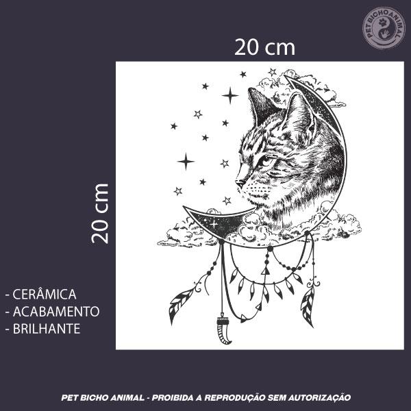 Azulejo Decorativo - A Magia do Gato 2