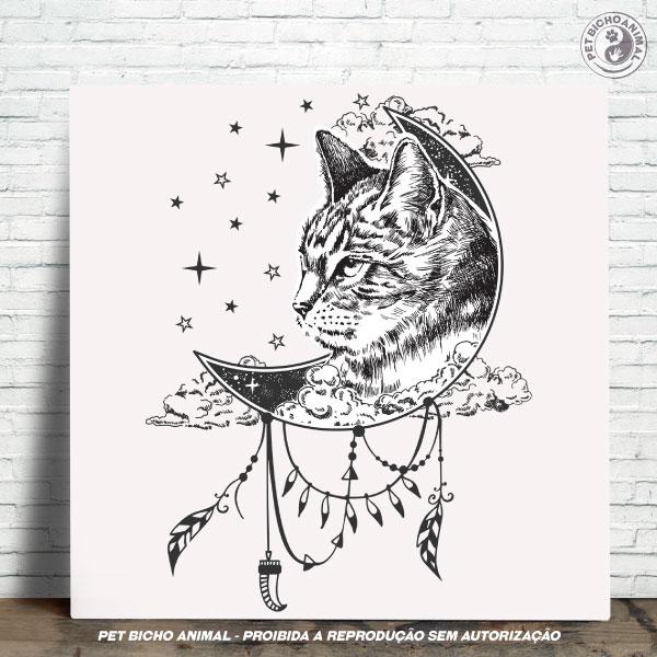 Azulejo Decorativo - A Magia do Gato 1