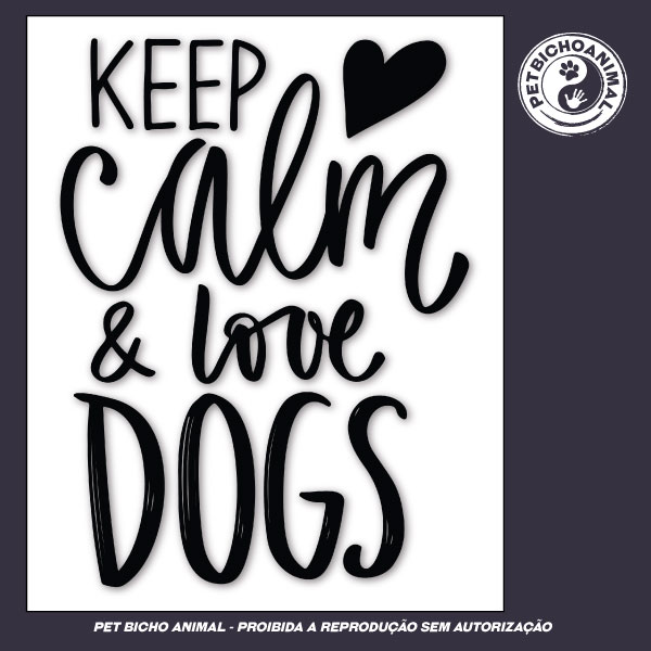 Camiseta - Keep Calm and Love Dogs 3