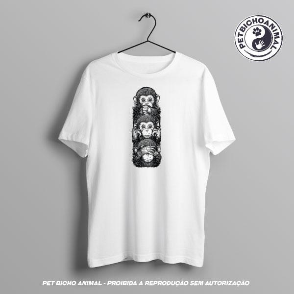 Camiseta - Os 3 Macacos Sábios 3