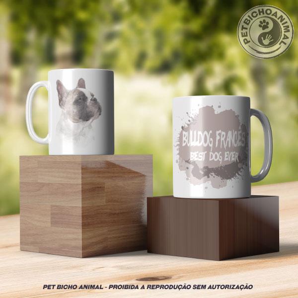 Caneca Coleção Best Dog Ever - Raça Bulldog Francês 3
