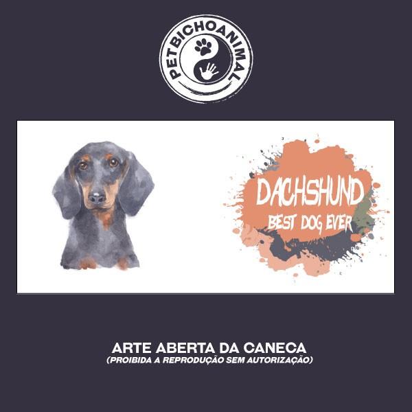 Caneca Coleção Best Dog Ever - Raça Dachshund 3