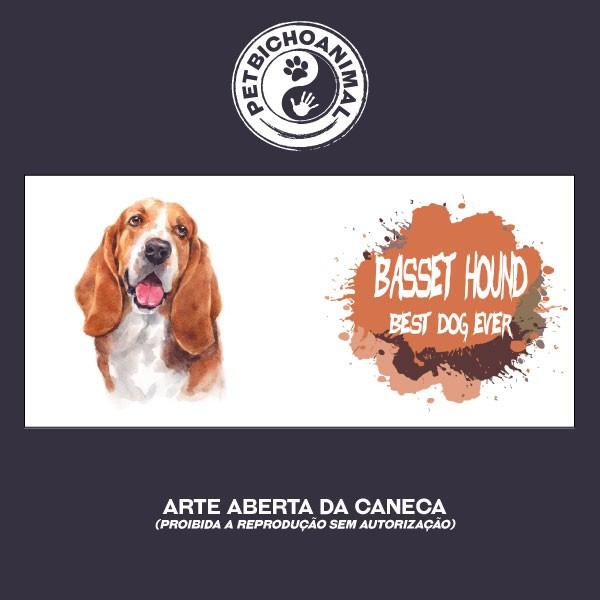 Caneca Coleção Best Dog Ever - Raça Basset Hound 2