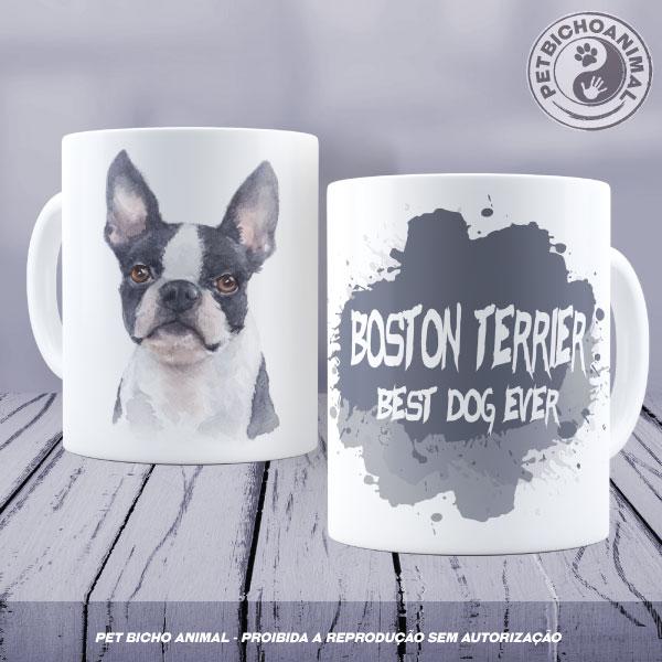 Caneca Coleção Best Dog Ever - Raça Boston Terrier 1