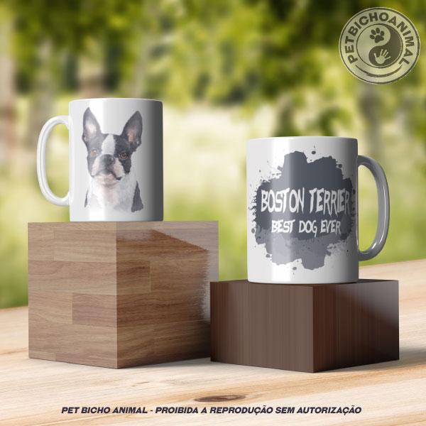 Caneca Coleção Best Dog Ever - Raça Boston Terrier 3