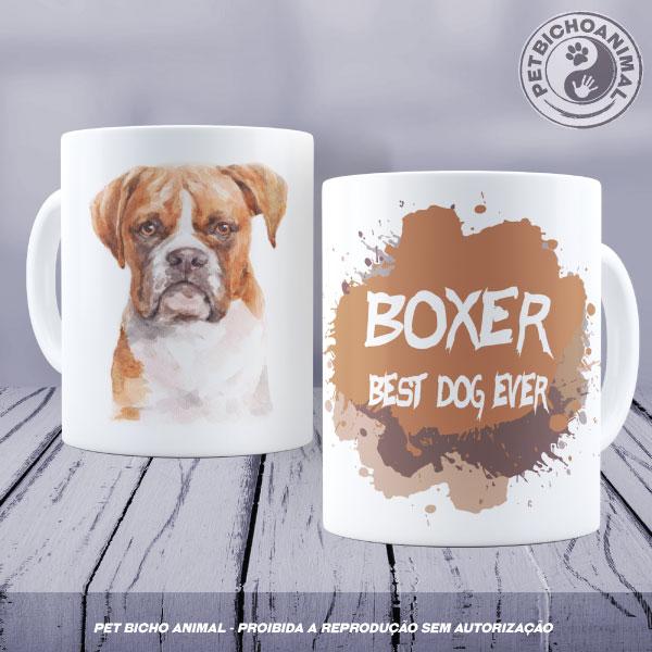 Caneca Coleção Best Dog Ever - Raça Boxer 1