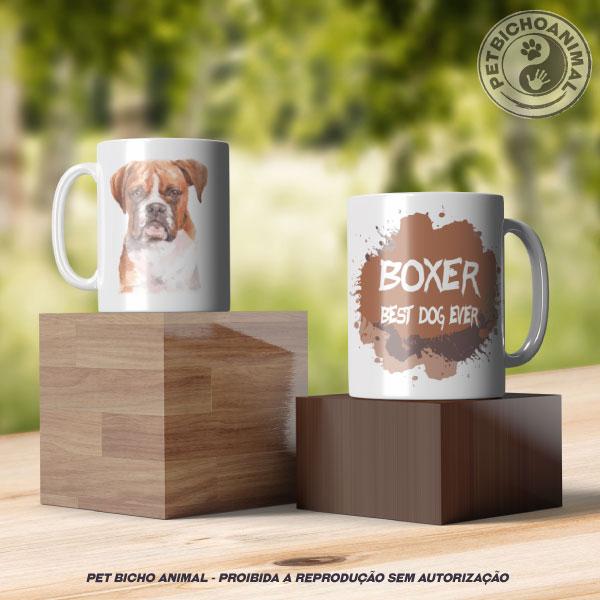 Caneca Coleção Best Dog Ever - Raça Boxer 3