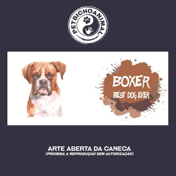 Caneca Coleção Best Dog Ever - Raça Boxer 2