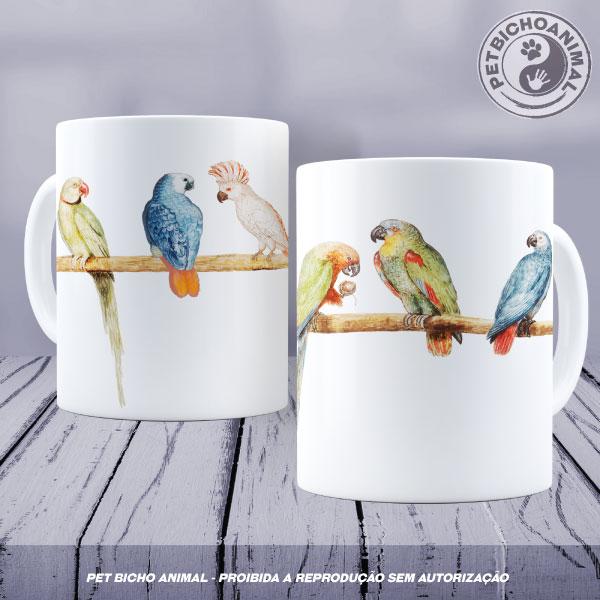 Caneca - Papagaios 1