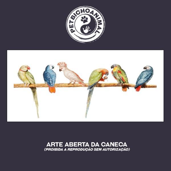 Caneca - Papagaios 3