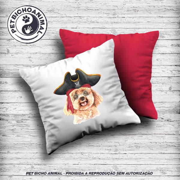 Almofada Coleção Hipsters Dogs - Poodle 1