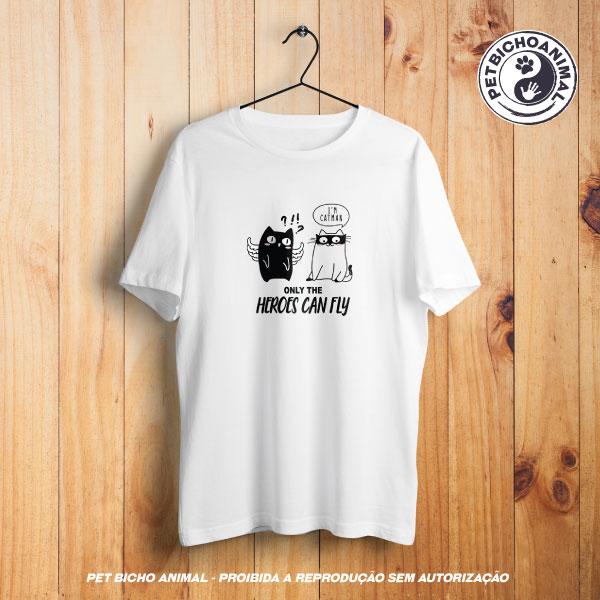 Camiseta -  Heróis Felinos 1