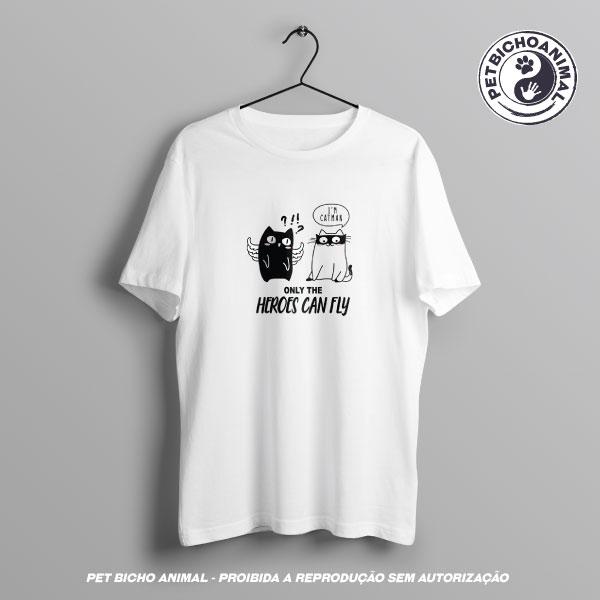Camiseta -  Heróis Felinos 2