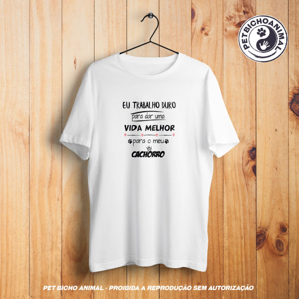Camiseta -  Trabalho Duro 1