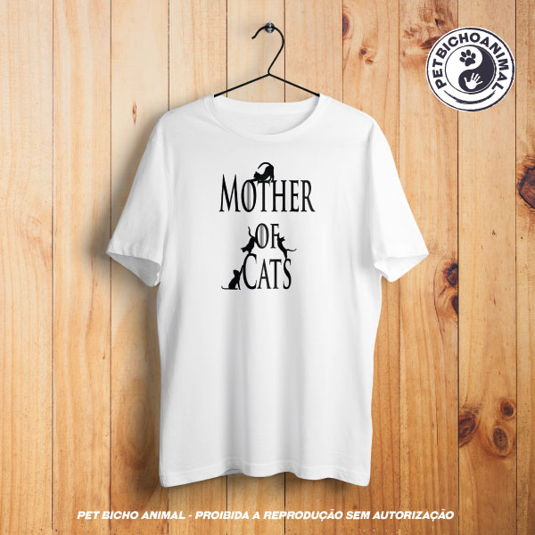 Camiseta -  Mother of Cats 1